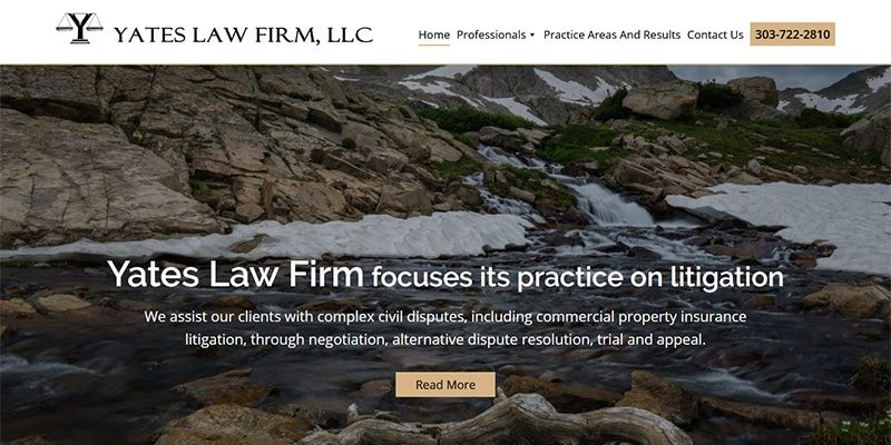 Yates law firm website.