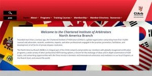 Chartered Institute of Arbitrators North American Branch website.