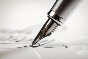 Content Writing For Law Firms With Pen.