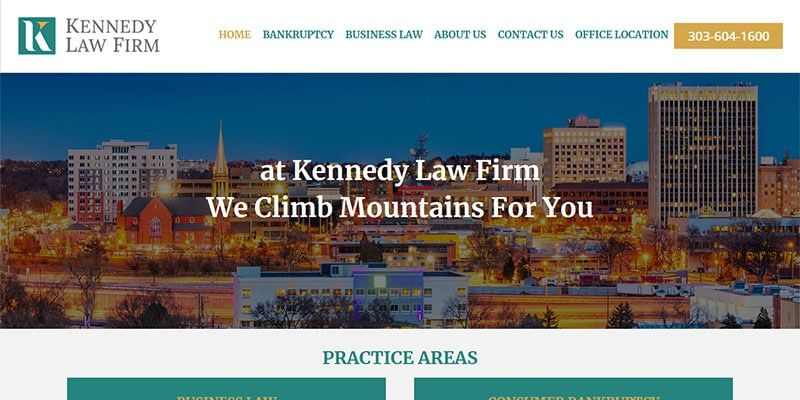 Kennedy Law Firm website.