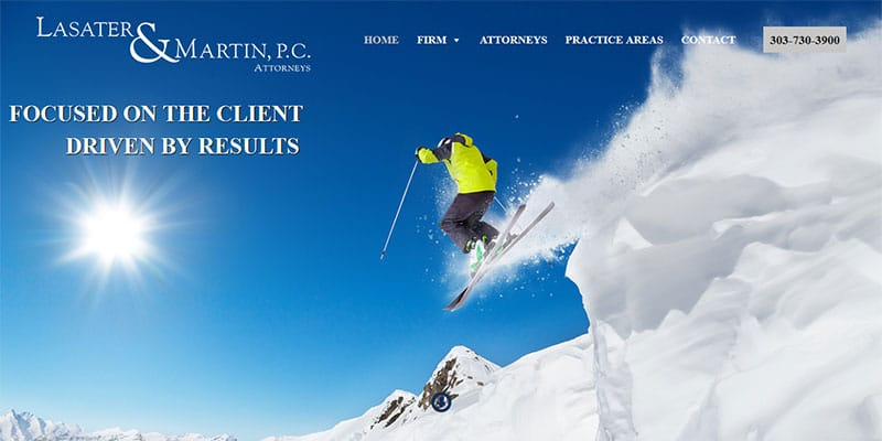 Lasater and Martin PC Attorneys website.