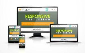 Responsive Attorney Website Design On Desktop, Laptop, Tablet, And Smartphone.